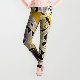 Hufflepuff Crest Leggings