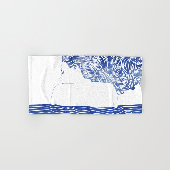 Water Nymph LXII Hand & Bath Towel