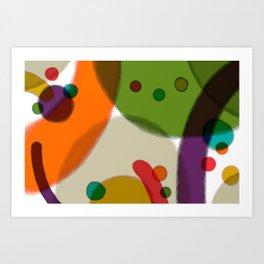 Play Date Art Print
