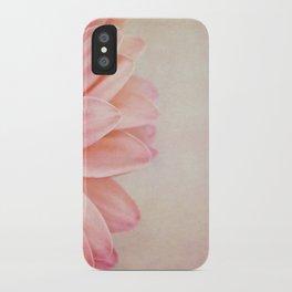 Pretty in Peach iPhone Case