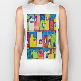 Rainbow Terraces Biker Tank