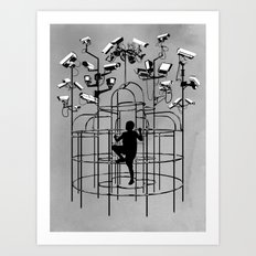 Supervision Art Print