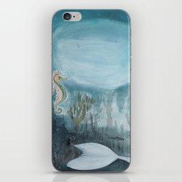 The little mermaid_Illustration iPhone Skin