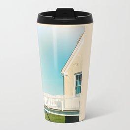 Cottage by the sea Travel Mug