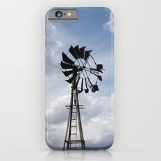 Left to the Elements...Abandoned Windmill iPhone 6s Slim Case
