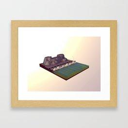 Sea Front Framed Art Print