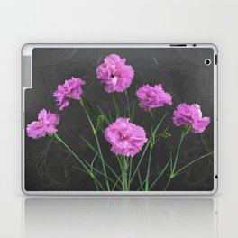 Pinks on Slate Laptop & iPad Skin