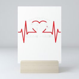 SCAD Heart Attack Women T-Shirt Survivor Warrior Gift Mini Art Print