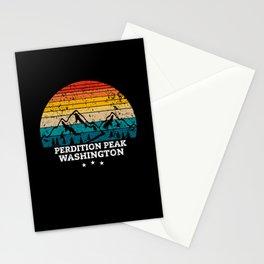 PERDITION PEAK WASHINGTON Stationery Cards
