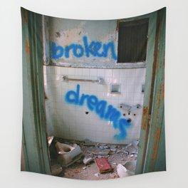 Broken Dreams Wall Tapestry
