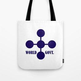 world government Tote Bag