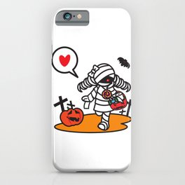 shopping Momie-chan iPhone Case