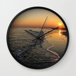 Folly Beach Wall Clock
