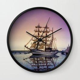 Sail Boston -Guayas Wall Clock