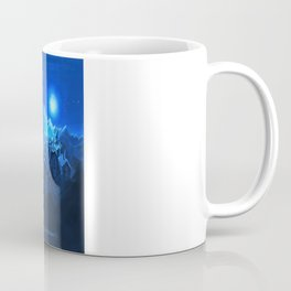 blue village Coffee Mug