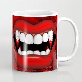 Vampire Bloody Fangs Coffee Mug