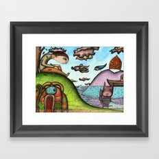 Surprise, Surprise (Will You Still Remember Me That Way?) Framed Art Print