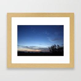 Stealthy Sunrise  Framed Art Print
