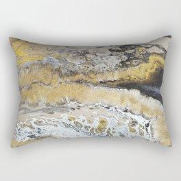 Gold Tide Rectangular Pillow