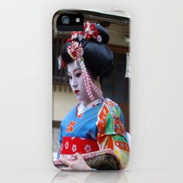 Reflections of a Geisha  iPhone Case