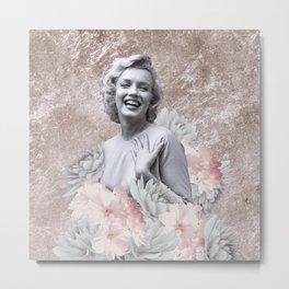 Spring Marilyn Metal Print