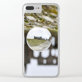 Whitby abbey Clear iPhone Case