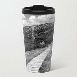 Black and White Tundra Travel Mug