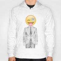 suit Hoodies featuring Suit & Tie  by BTP Designs