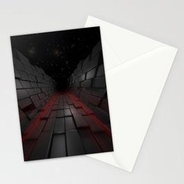 The Dark 3D Path Stationery Cards