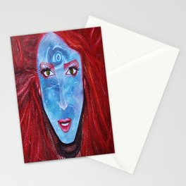 Resident of Neptune Stationery Cards