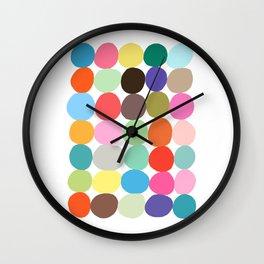 Big Bright Spots Wall Clock