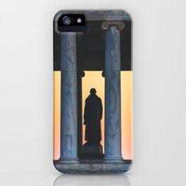Between the Columns iPhone Case