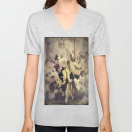 Flowers of Nostalgia Unisex V-Neck