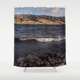 Lake Dunstan Shower Curtain