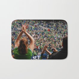 All as one for the Sounders!! Bath Mat