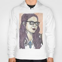 oitnb Hoodies featuring Vause OITNB by Ashley Rowe