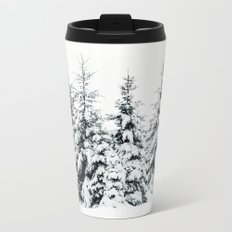 Snow Porn Metal Travel Mug