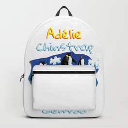 Penguin Adélie Chinstrap Emperor Gento Autism Backpack