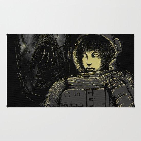 Space Horror Rug
