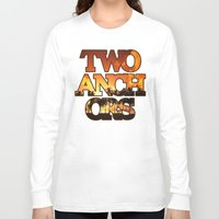 anchors Long Sleeve T-shirts featuring Sunset Anchors by Two Anchors
