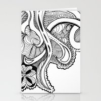 zentangle Stationery Cards featuring zentangle by Pinkspoisons