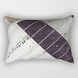 happy strings {ukulele Rectangular Pillow