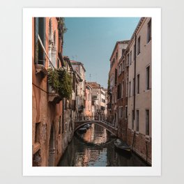 Exploring Venice // Travel and Lifestyle Collection Art Print