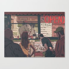 Late Night Cravings Canvas Print