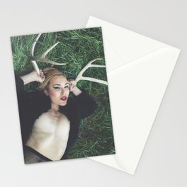 Among the Grass Stationery Cards