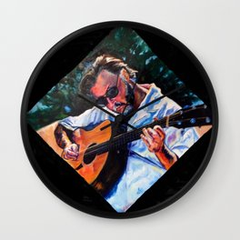 Playing Lizzie Taylor Wall Clock