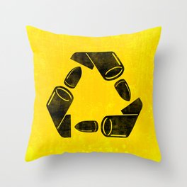 Neverending war Throw Pillow