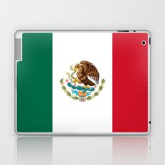 The National flag of Mexico (Officially the Flag of the United Mexican States)  Laptop & iPad Skin