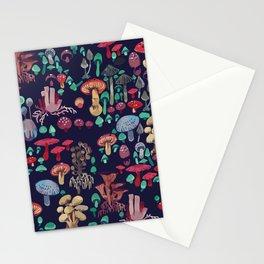 Magic mushrooms Stationery Cards