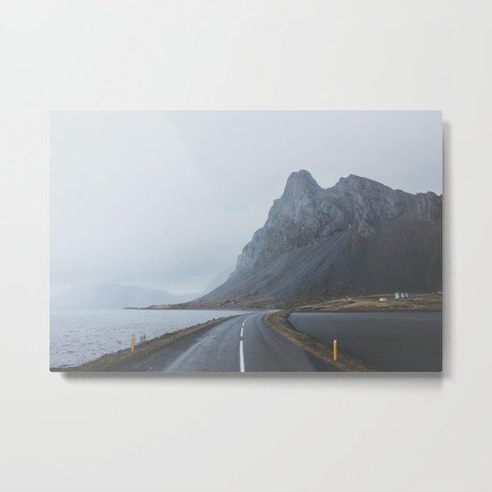 Þjóðvegur, Iceland Metal Print